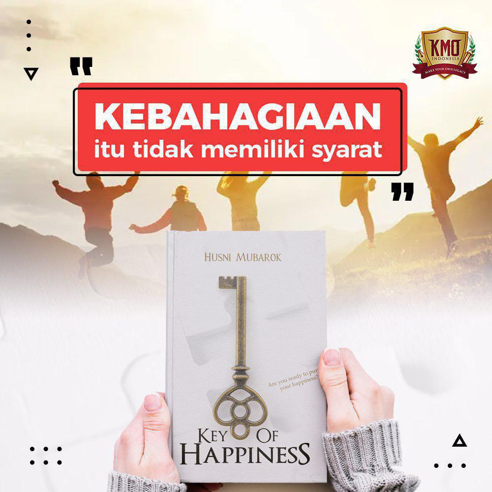 buku Key of Happiness
