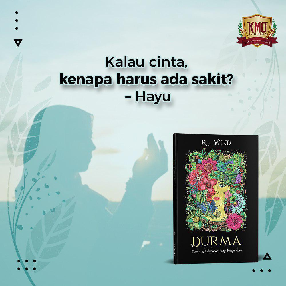 Novel Durma Mba Ririm KMO Indonesia