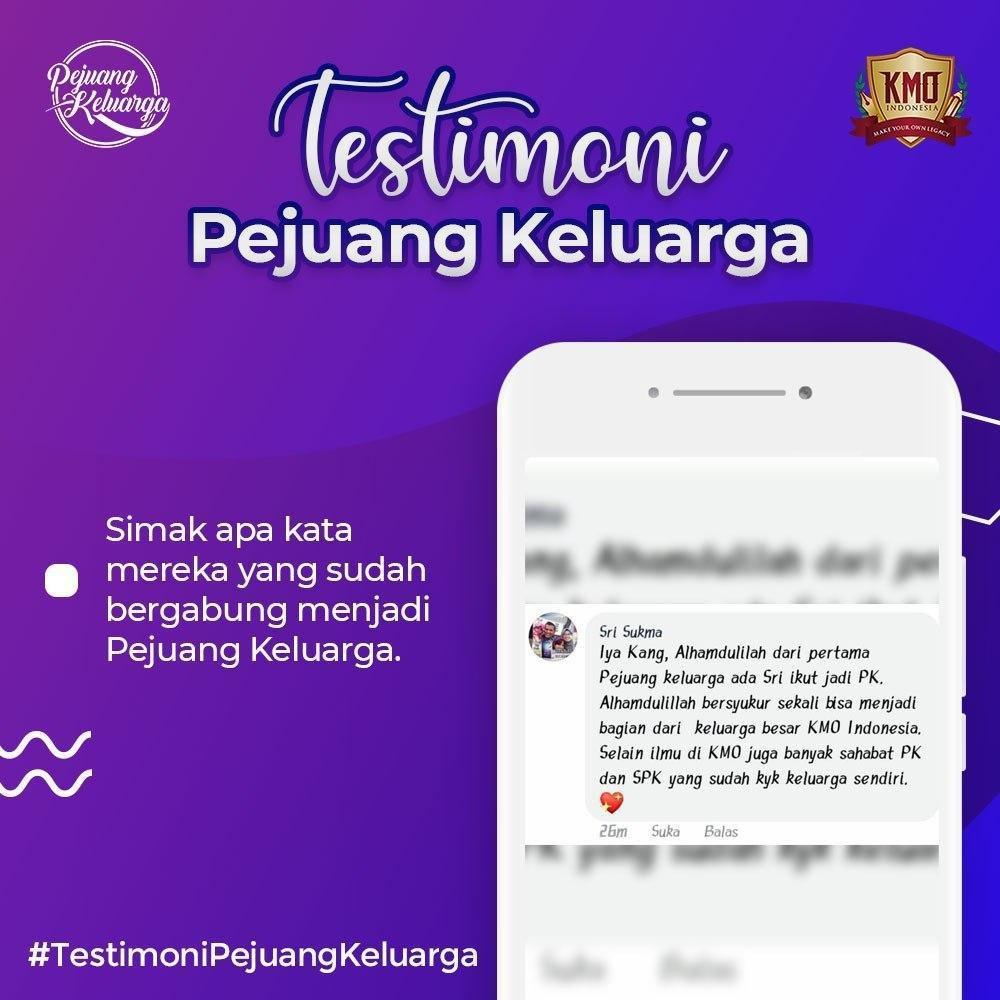 Testimony KMO, Pejuang Keluarga KMO, Pejuang Keluarga KMO Indonesia, Pejuang Keluarga, Daftar Pejuang Keluarga, Cara Daftar Pejuang Keluarga, Gabung Pejuang Keluarga, Daftar PK KMO, Daftar Reseller Buku (2)