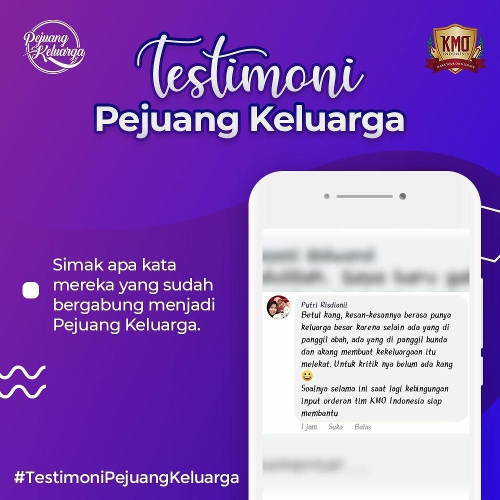 Testimony KMO, Pejuang Keluarga KMO, Pejuang Keluarga KMO Indonesia, Pejuang Keluarga, Daftar Pejuang Keluarga, Cara Daftar Pejuang Keluarga, Gabung Pejuang Keluarga, Daftar PK KMO, Daftar Reseller Buku (4)