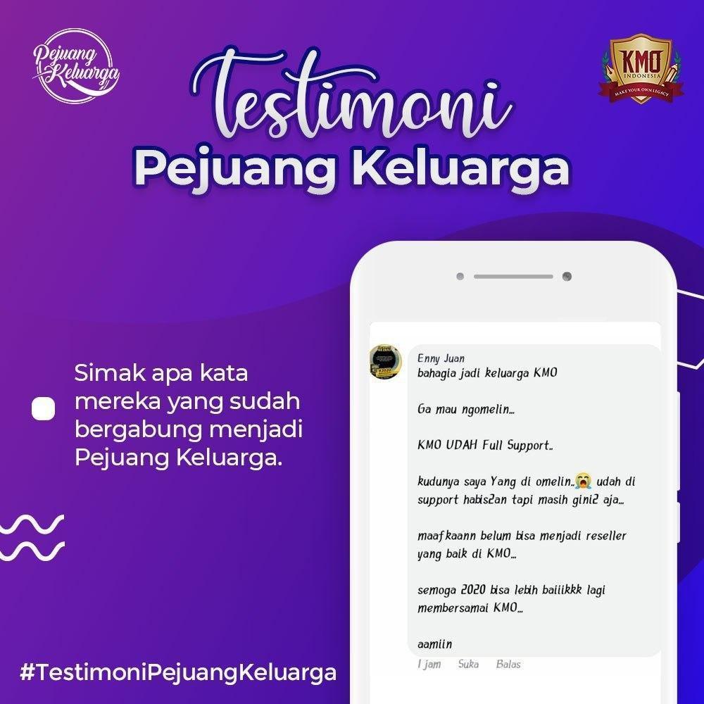 Testimony KMO, Pejuang Keluarga KMO, Pejuang Keluarga KMO Indonesia, Pejuang Keluarga, Daftar Pejuang Keluarga, Cara Daftar Pejuang Keluarga, Gabung Pejuang Keluarga, Daftar PK KMO, Daftar Reseller Buku (5)